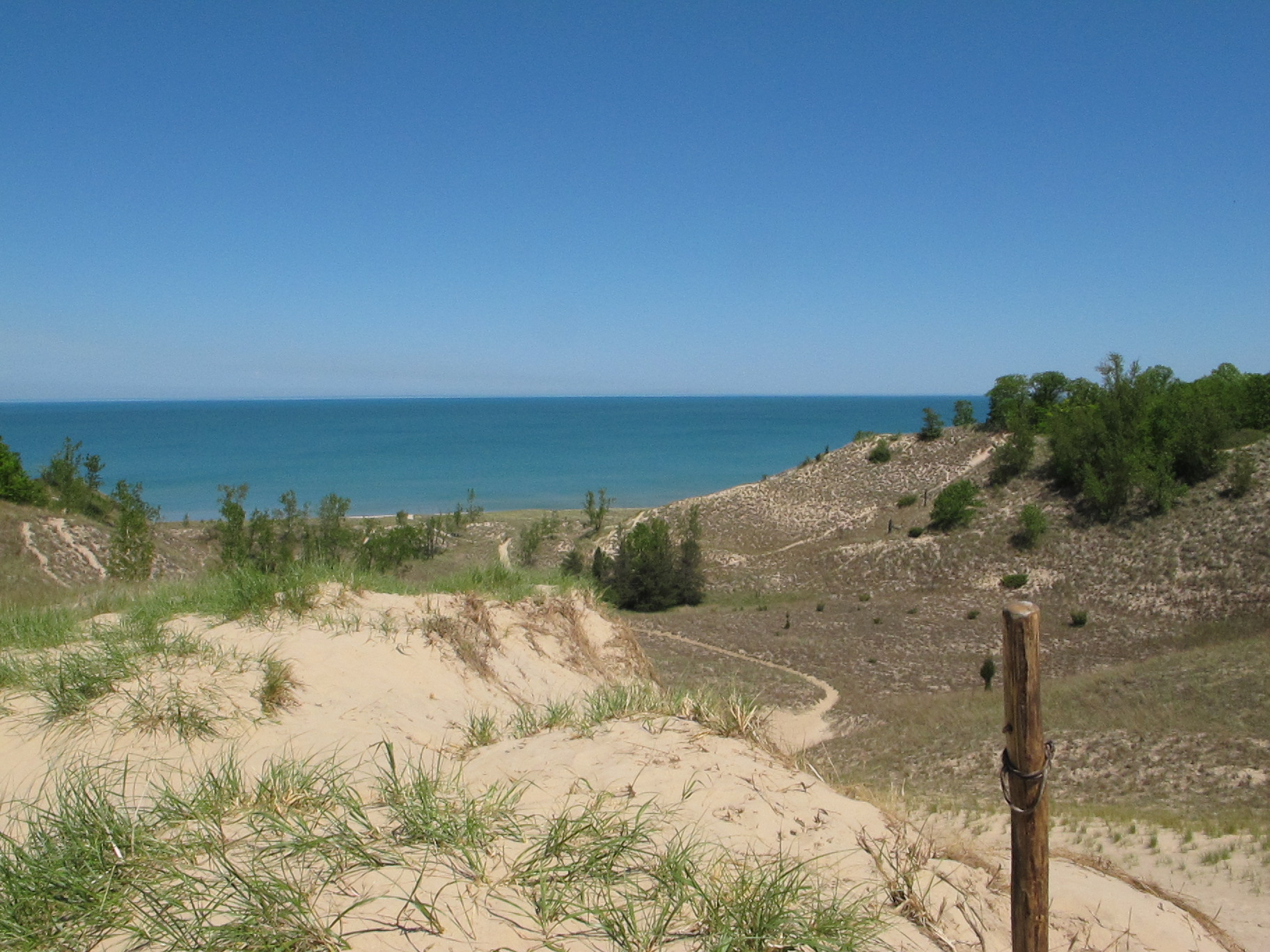 Indiana dunes state park hike tyler coulson dot com