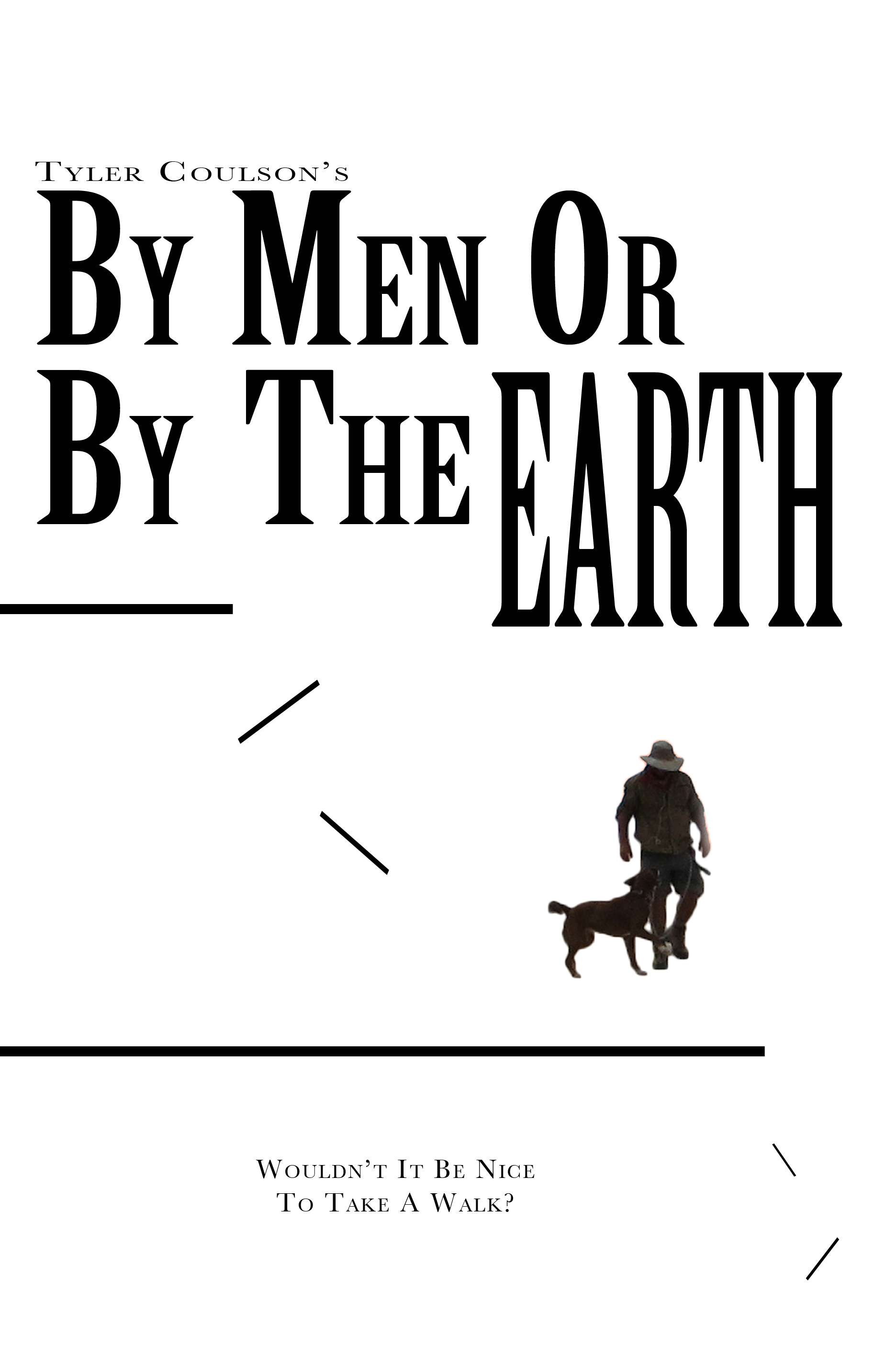 The cover of Coulson's By men or By the Earth, second edition.