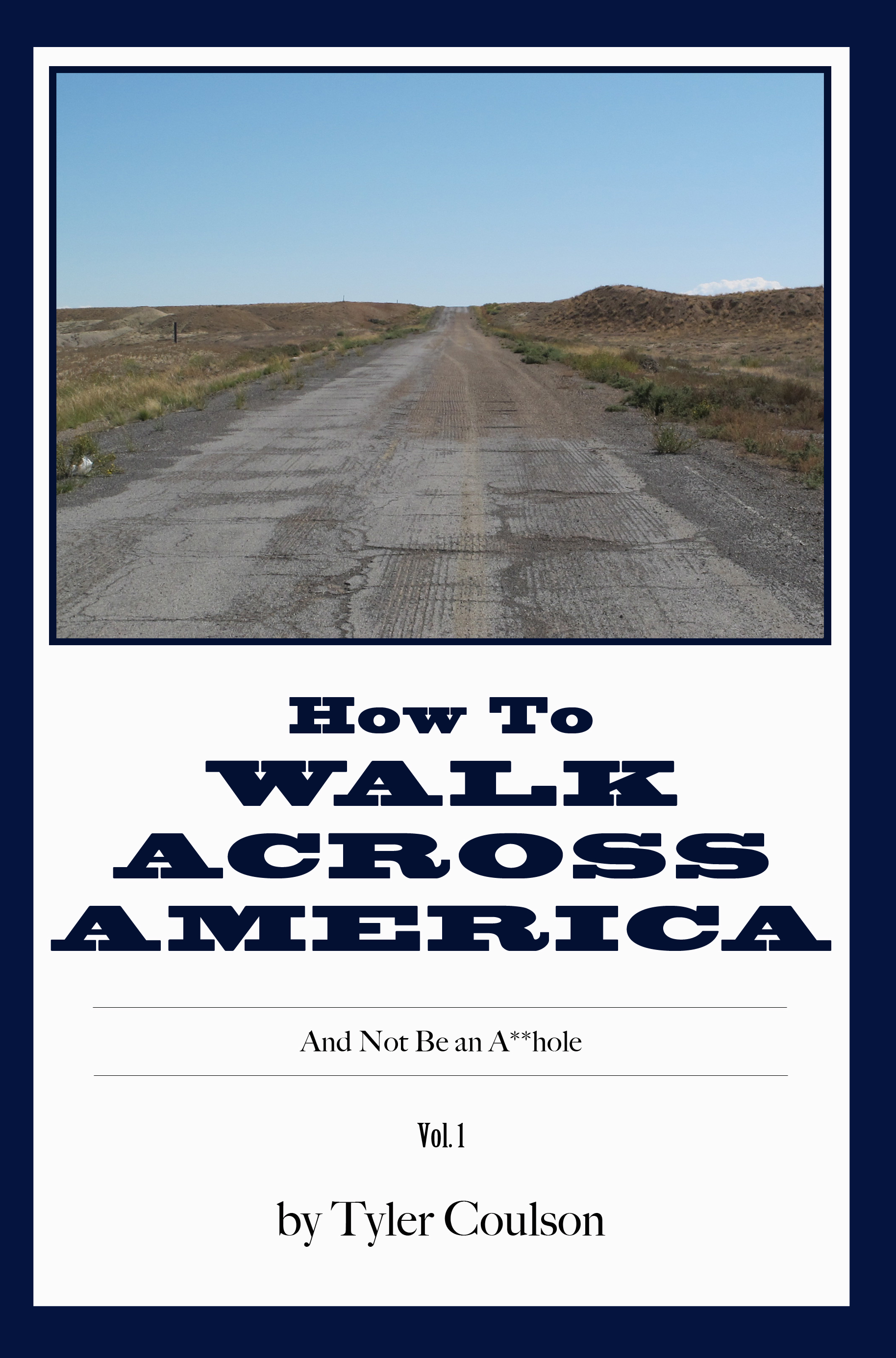 How to Walk Across America cover